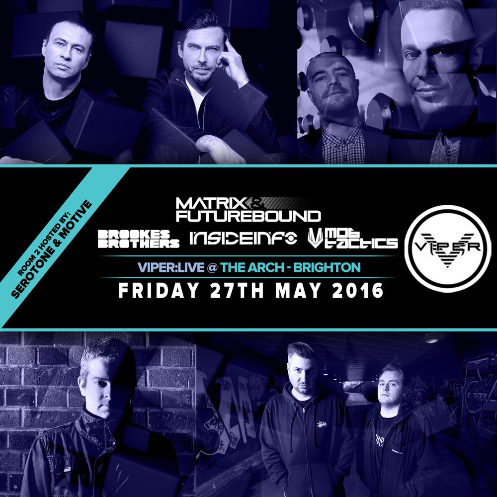 MOB TACTICS – VIPER LIVE BRIGHTON PROMO MIX